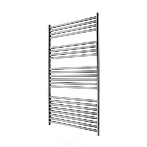 Abacus Elegance Linea Straight Towel Rail - 1120mm x 600mm - Polished Stainless Steel